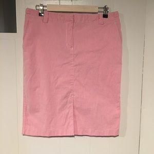 Isaac Mizrahi Pencil Skirt, Adjustable Waist, 12